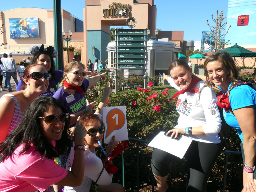 The Girl's Got Sole - Cigna Great Race, Team Mickey