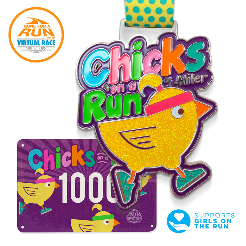 The Girl's Got Sole - Chicks on a Run Virtual