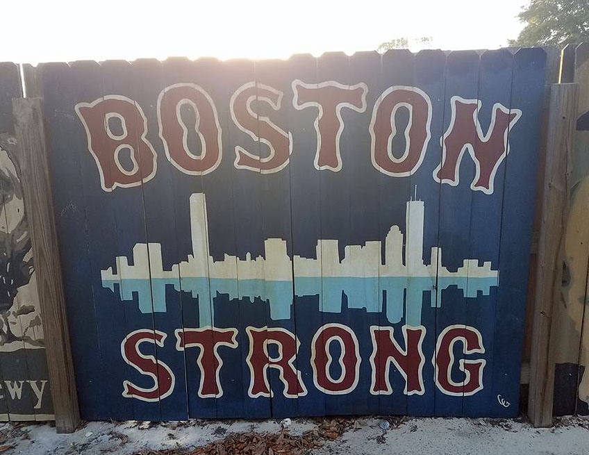 The Girl's Got Sole - Boston Strong