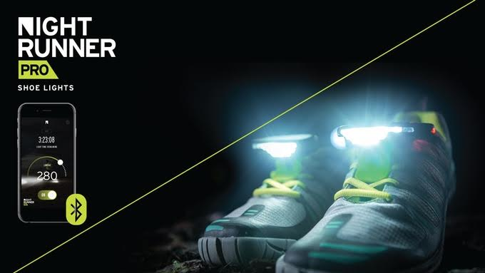 The Girl's Got Sole - Night Runner Pro shoe lights