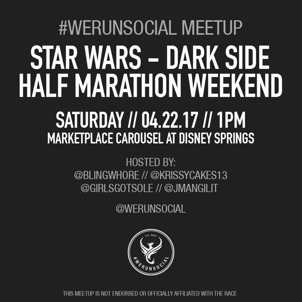 The Girl's Got Sole - We Run Social Dark Side meetup