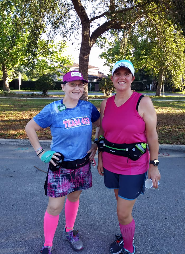 The Girl's Got Sole - Melissa & I after 8mi