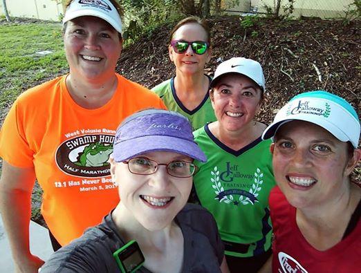 The Girl's Got Sole - Sat run group