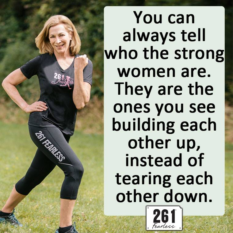 The Girl's Got Sole - Kathrine Switzer quote