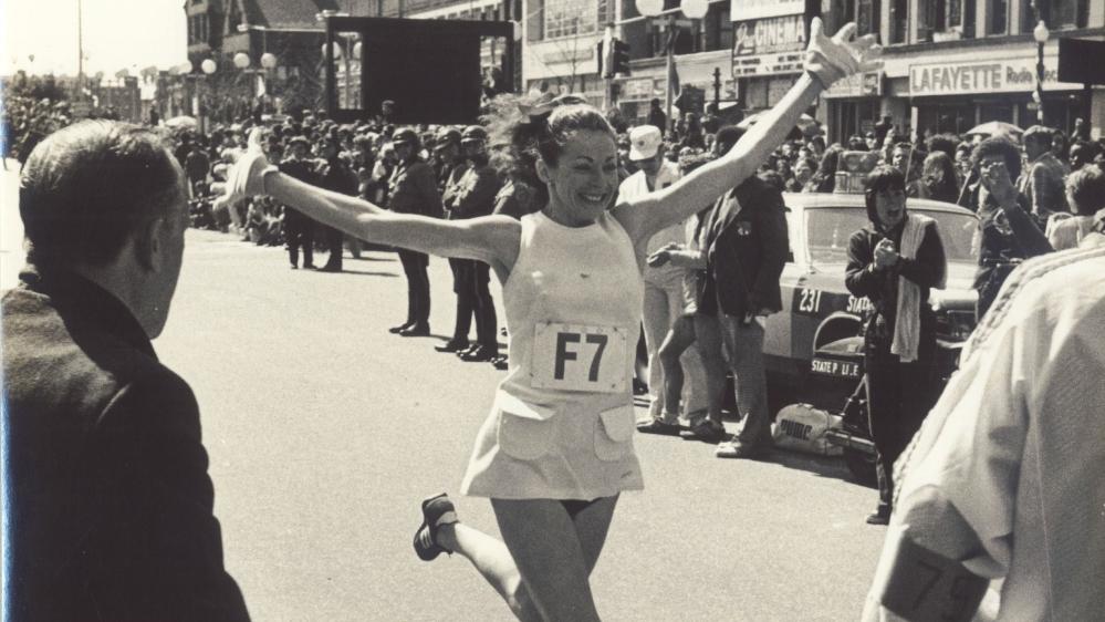 The Girl's Got Sole - Kathrine Switzer running NYC
