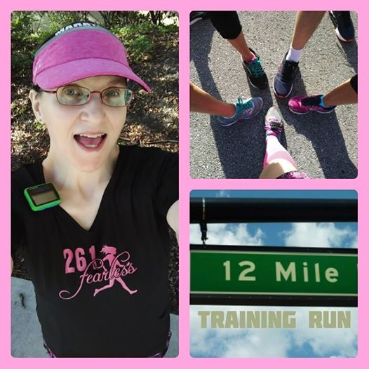 The Girl's Got Sole - 12 miler