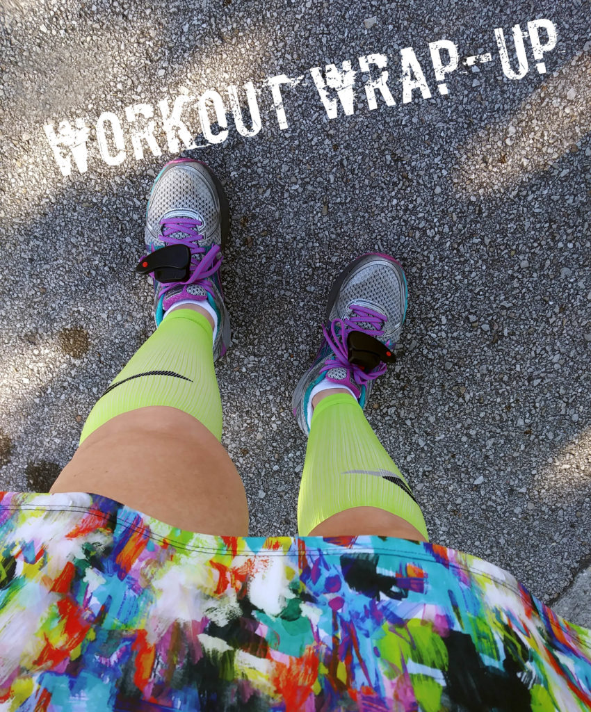 The Girl's Got Sole - Workout Wrap-up