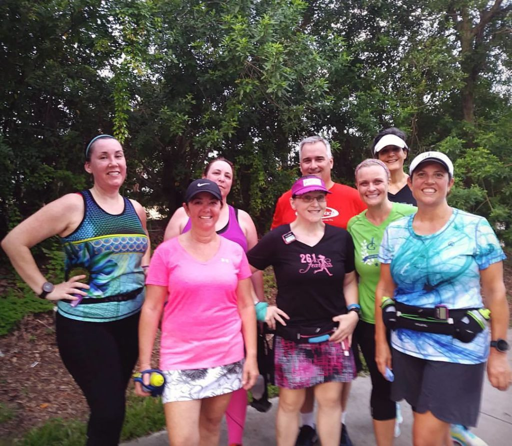 The Girl's Got Sole - Sat 6 mile group