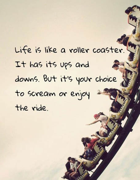 The Girl's Got Sole - Life is like a roller coaster