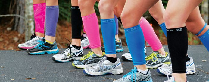 The Girl's Got Sole - Zensah compression sleeves