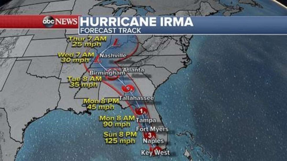 The Girl's Got Sole - Hurrican Irma