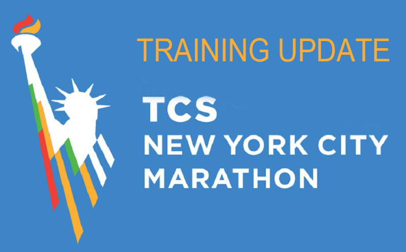 The Girl's Got Sole - 2017 TCS NYC Marathon training update