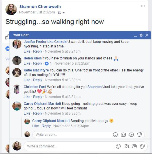 The Girl's Got Sole - FB friend motivation