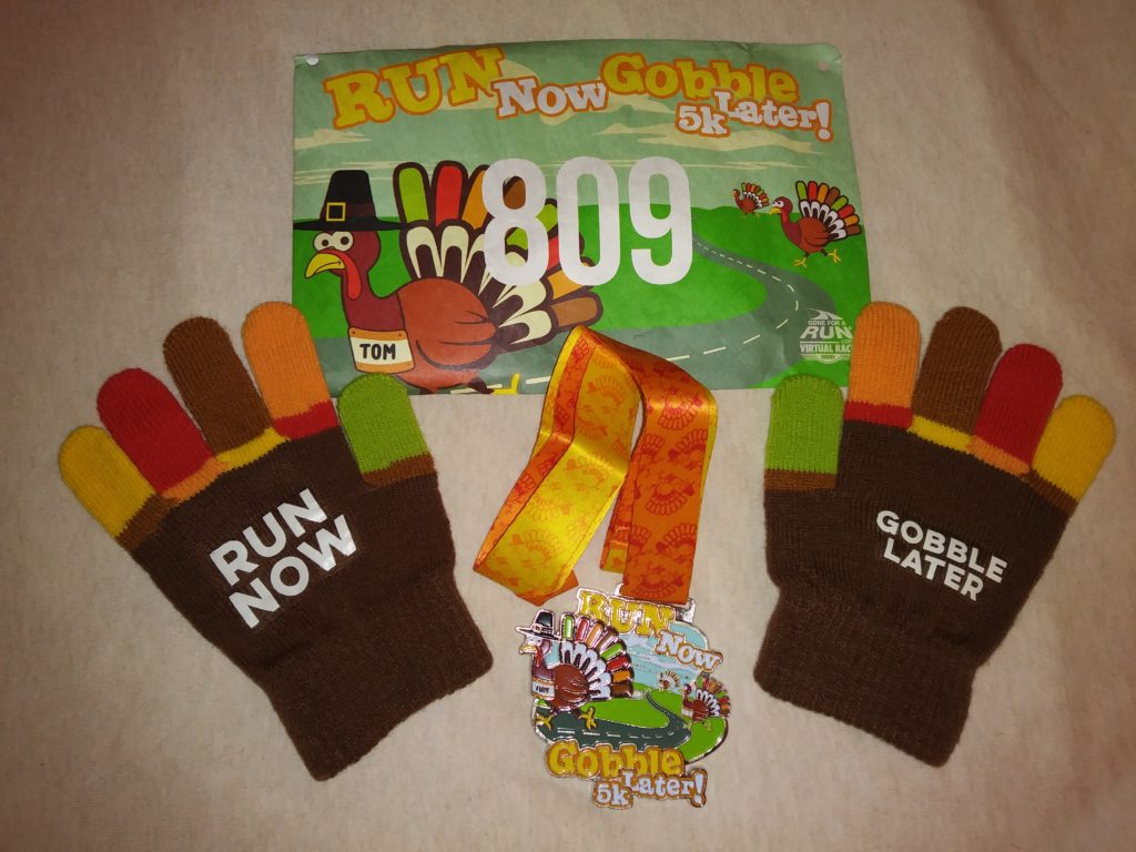 The Girl's Got Sole - Run Now, Gobble Later 5k