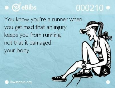 The Girl's Got Sole - Running injury meme