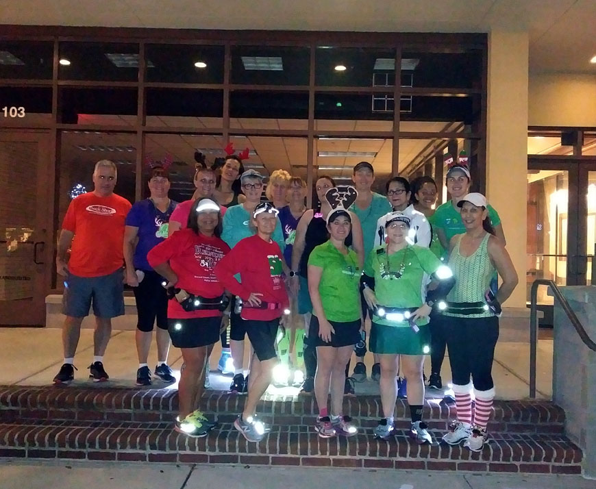 The Girl's Got Sole - Holiday Fun Run Group