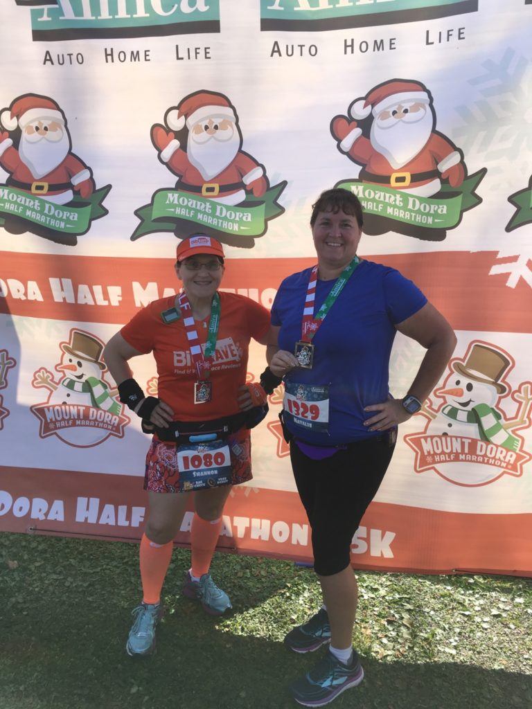 The Girl's Got Sole - Mt. Dora Half Marathon race recap