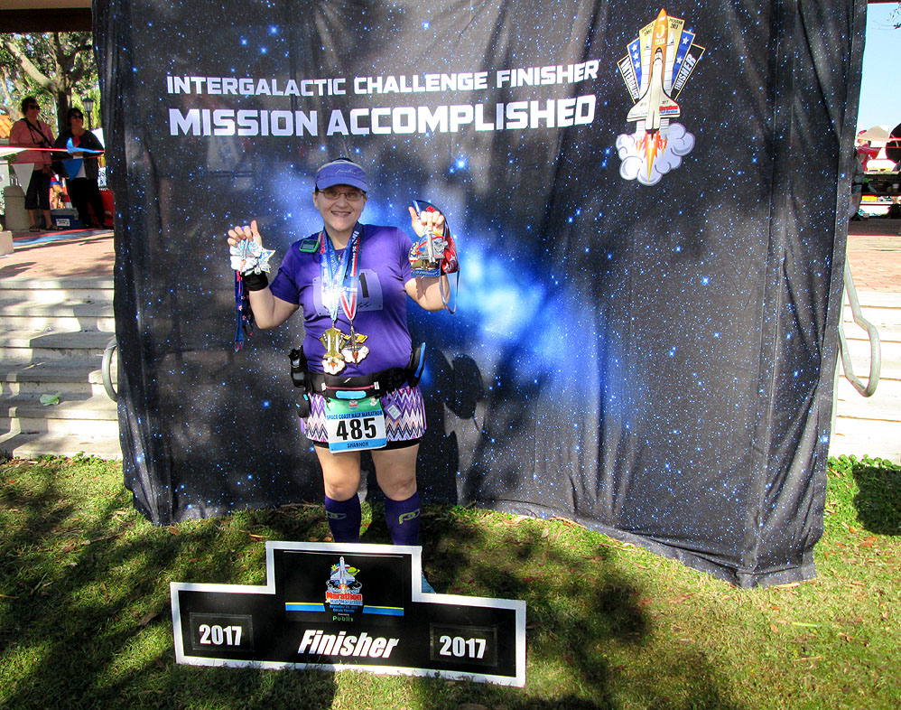 The Girl's Got Sole - Space Coast 5-year finisher