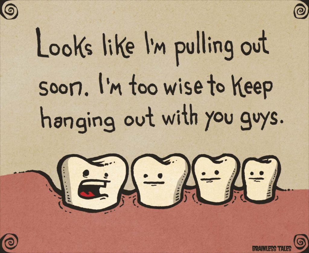The Girl's Got Sole - Wisdom tooth