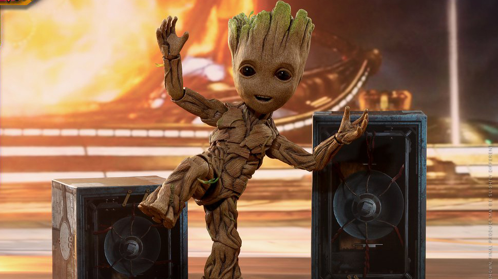 The Girl's Got Sole - Baby Groot