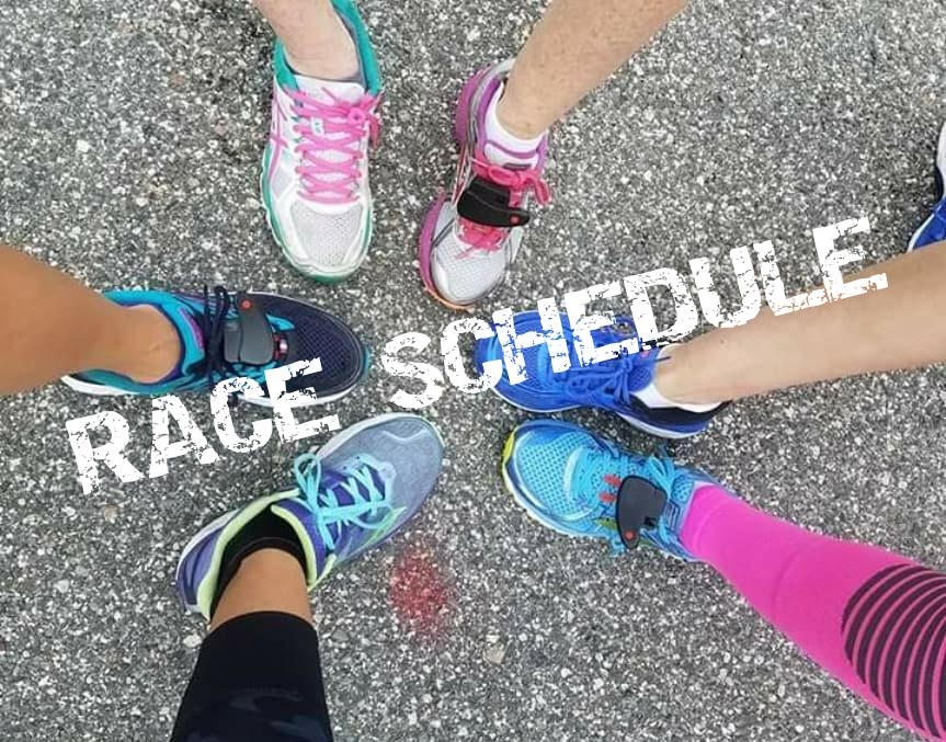 The Girl's Got Sole - Race Schedule