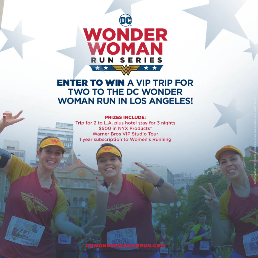 The Girl's Got Sole - DC Wonder Woman Run Sweepstakes