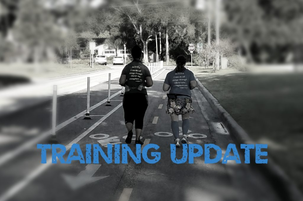 The Girl's Got Sole - Training Update