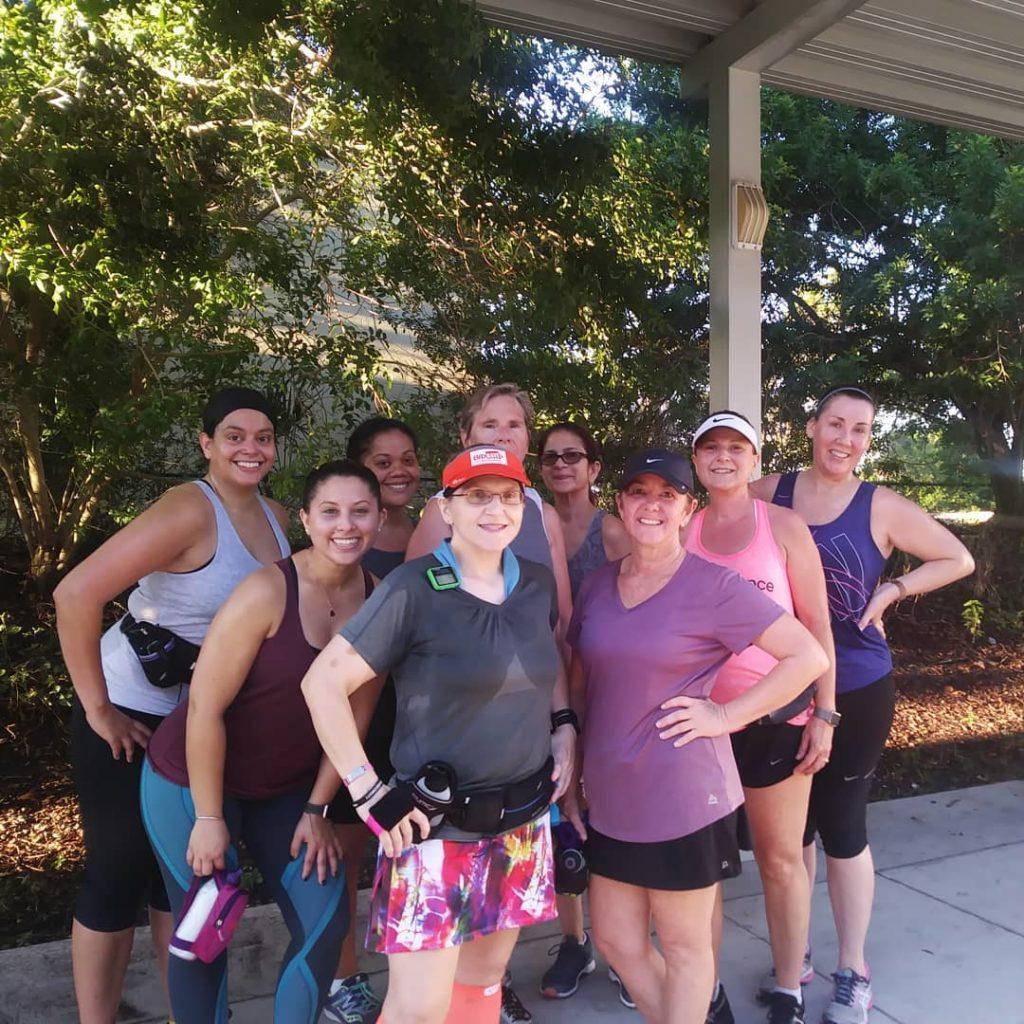 The Girl's Got Sole - Saturday group run