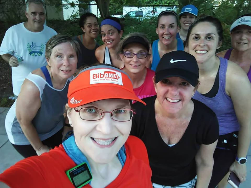 The Girl's Got Sole - Saturday group run