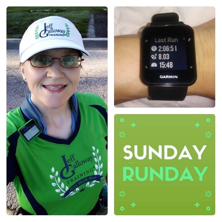 The Girl's Got Sole - Sunday run