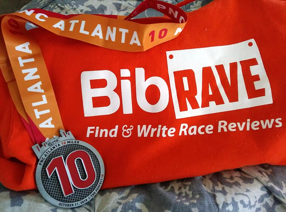 The Girl's Got Sole - PNC Atlanta 10 Miler medal