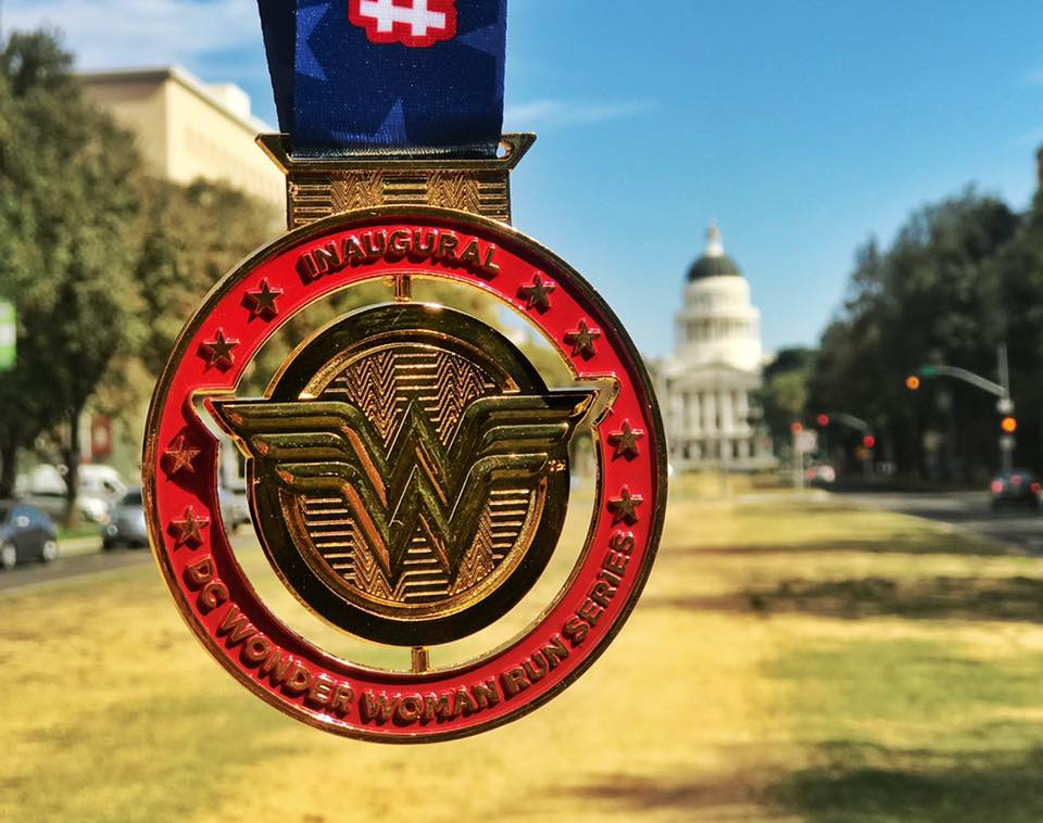 The Girl's Got Sole - DC Wonder Woman Run medal