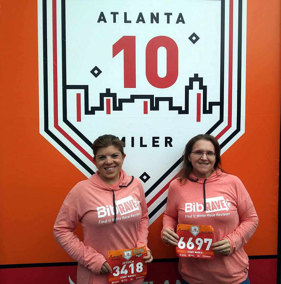The Girl's Got Sole - ATL 10 Miler