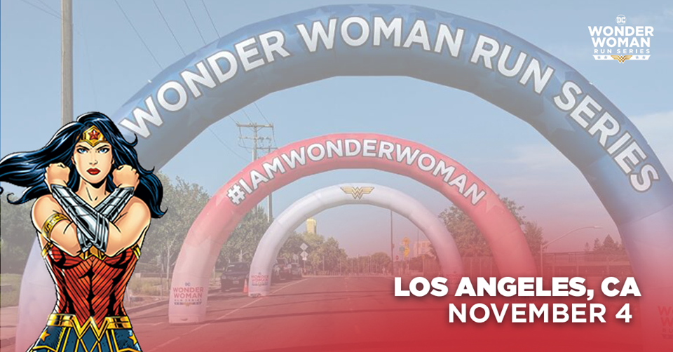 The Girl's Got Sole - DC Wonder Woman Run Series LA