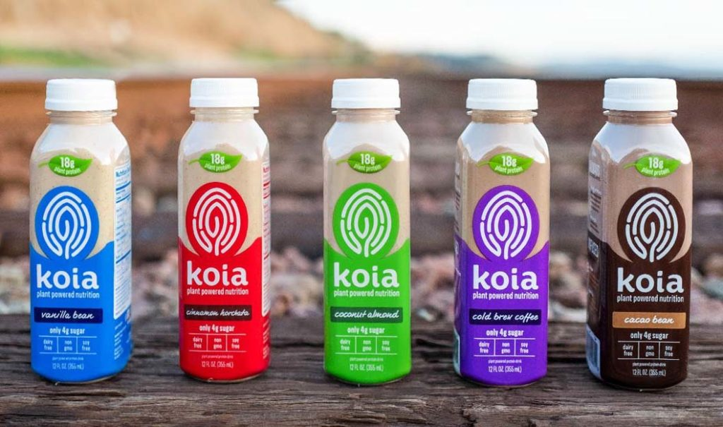 The Girl's Got Sole - Koia drinks