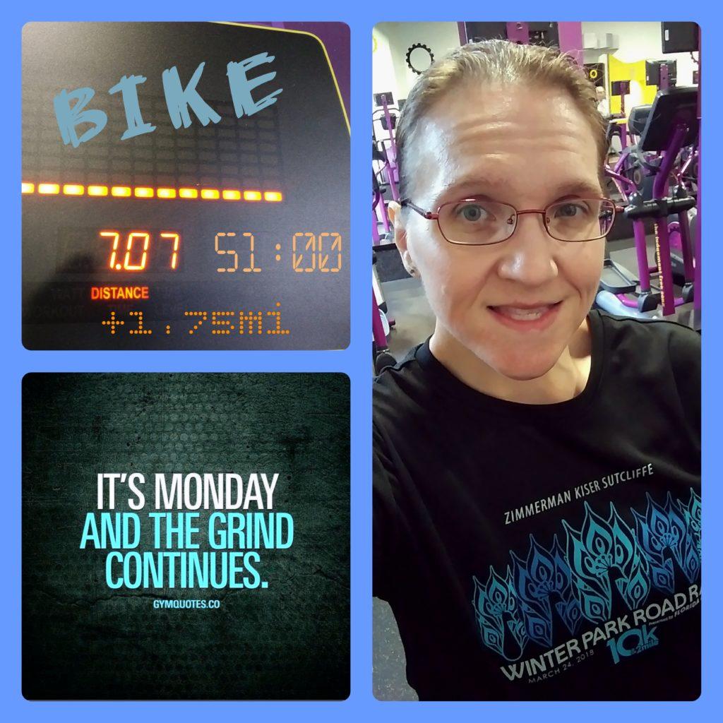 The Girl's Got Sole - Monday 11/19 bike