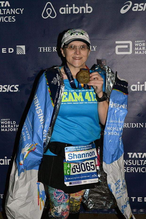 The Girl's Got Sole - 2015 NYC Marathon
