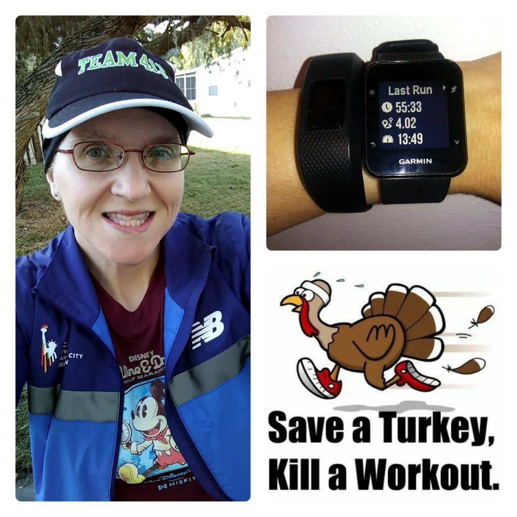 The Girl's Got Sole - Thanksgiving 4-miler