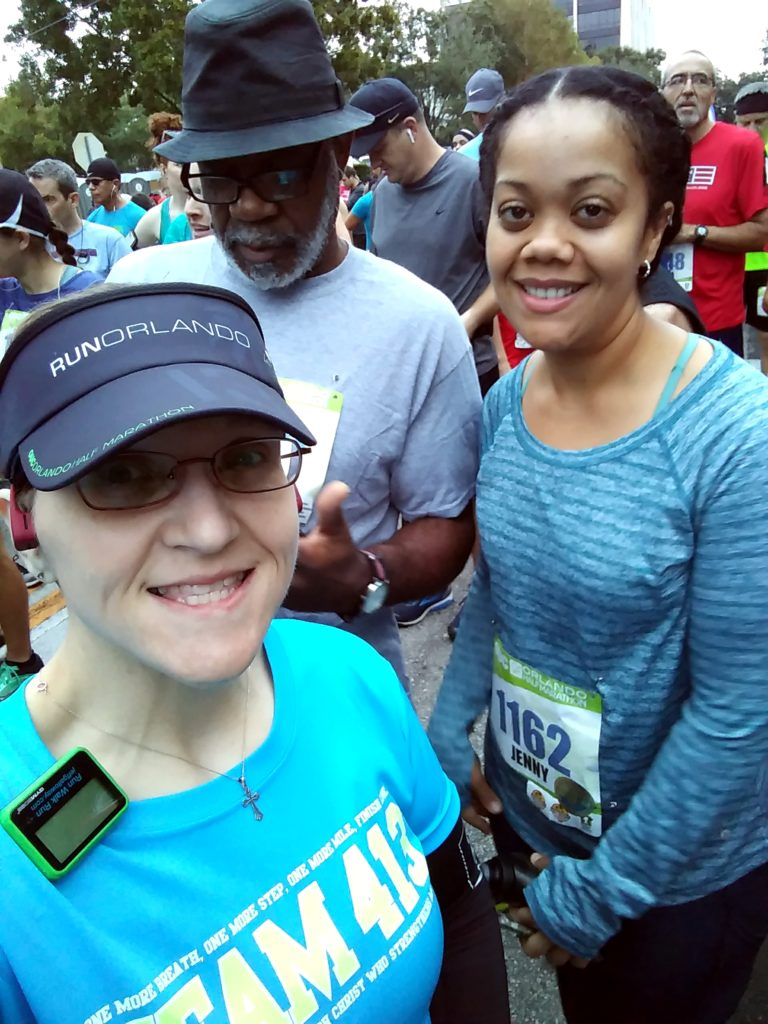 The Girl'Got Sole - 2018 OUC Half Marathon