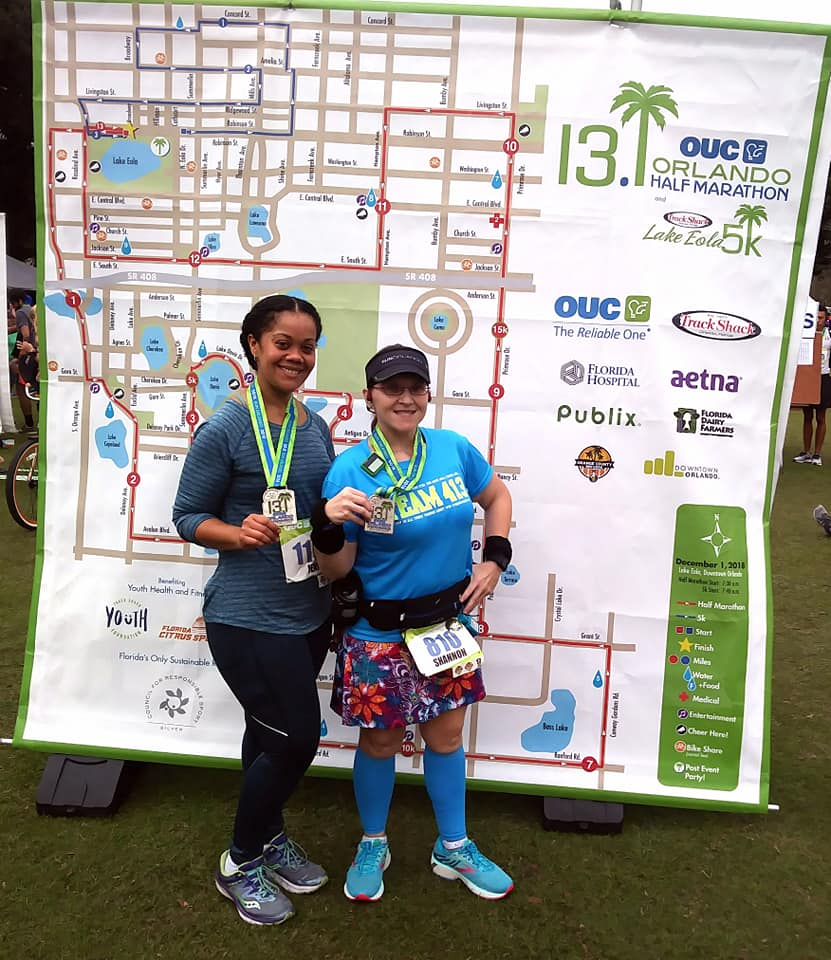 The Girl's Got Sole - 2018 OUC Orlando Half