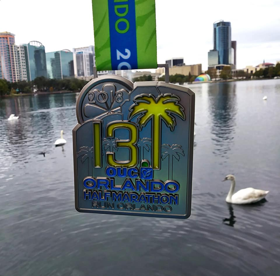 The Girl's Got Sole - 2018 OUC Orlando Half Marathon