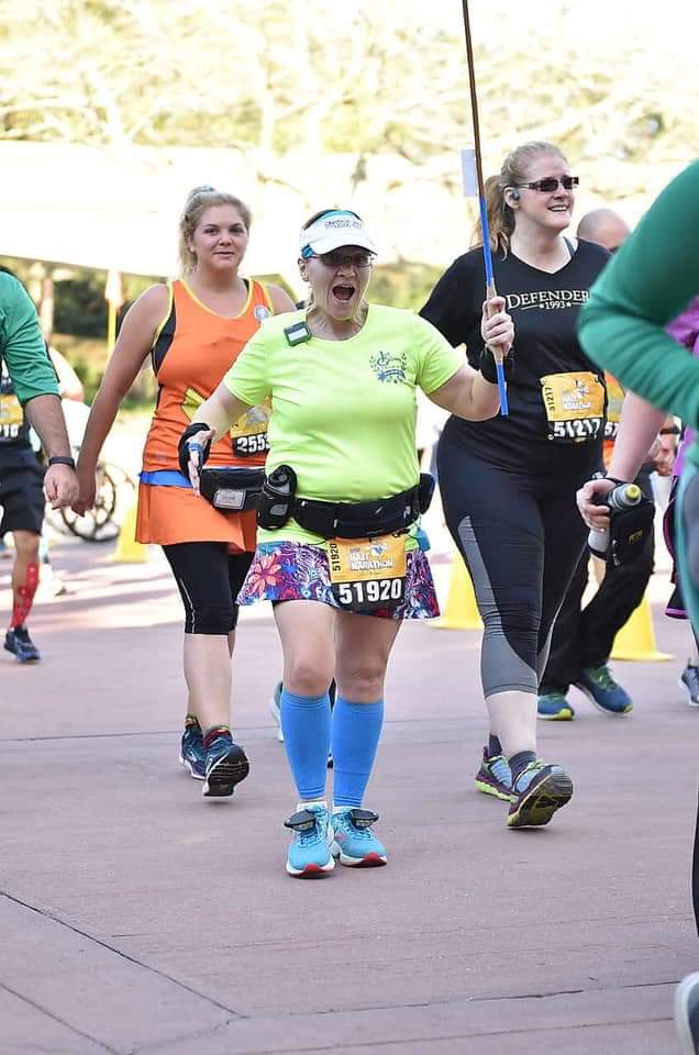 The Girl's Got Sole - 2019 WDW Half Marathon