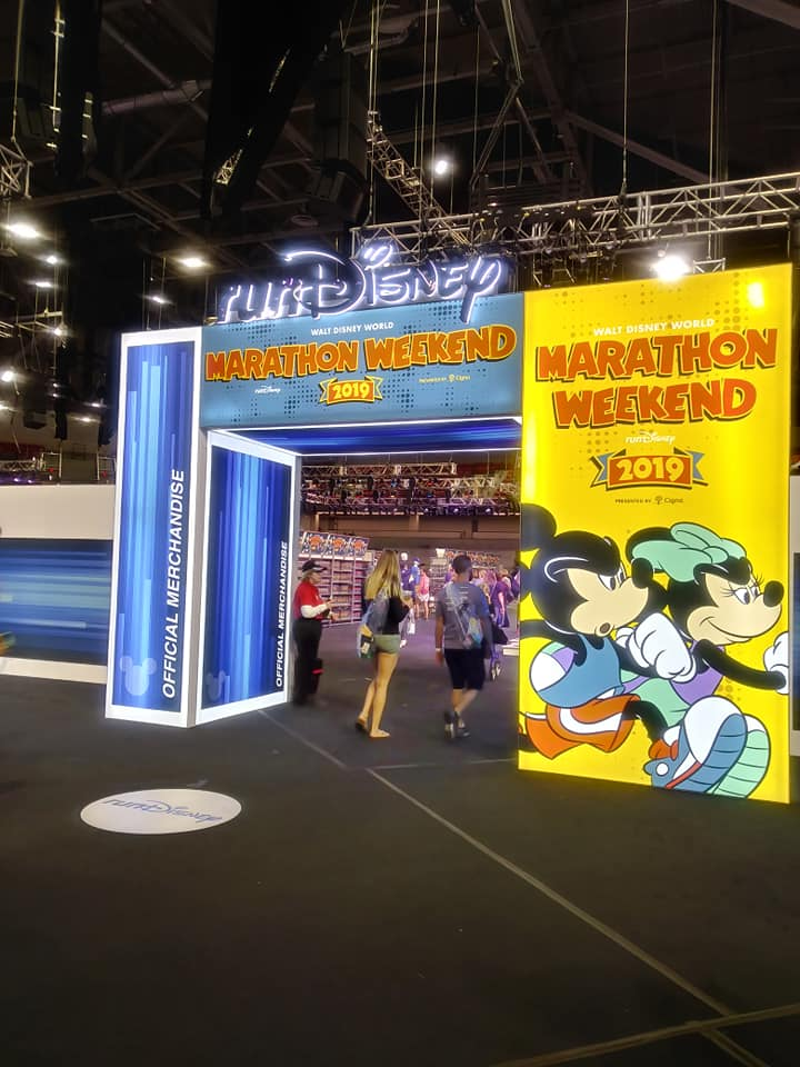 The Girl's Got Sole - 2019 WDW Half Marathon expo