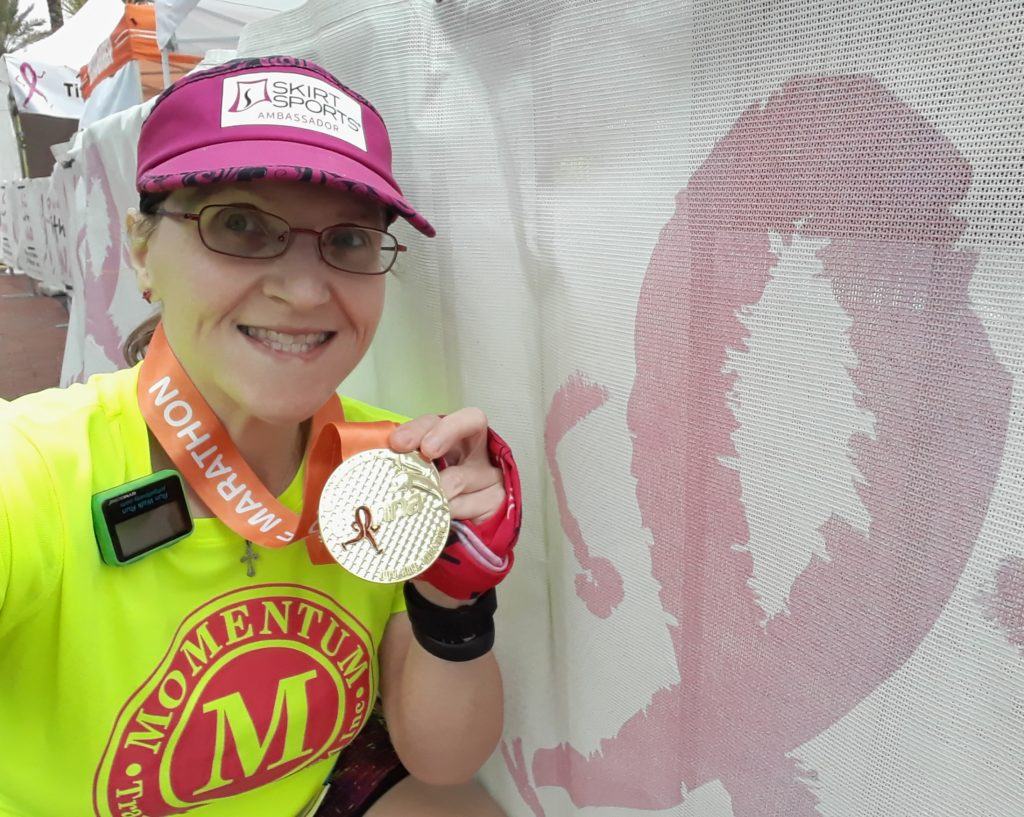 The Girl's Got Sole - DONNA half marathon finisher