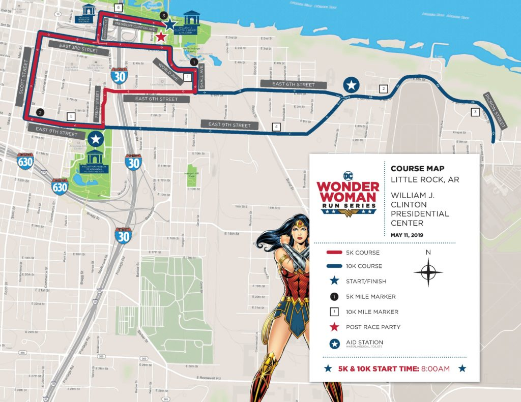 The Girl's Got Sole - Wonder Woman Run Little Rock