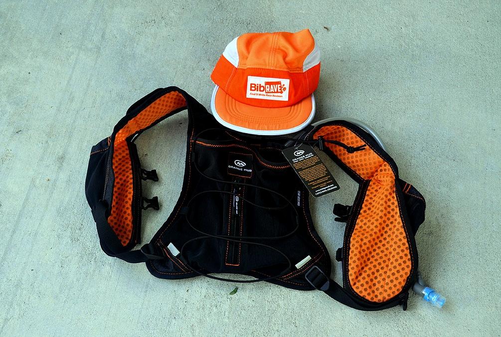 The Girl's Got Sole - Orange Mud Gear Vest pro