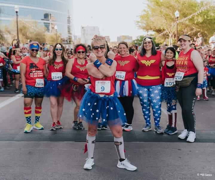 The Girl's Got Sole - Wonder Woman Run Series