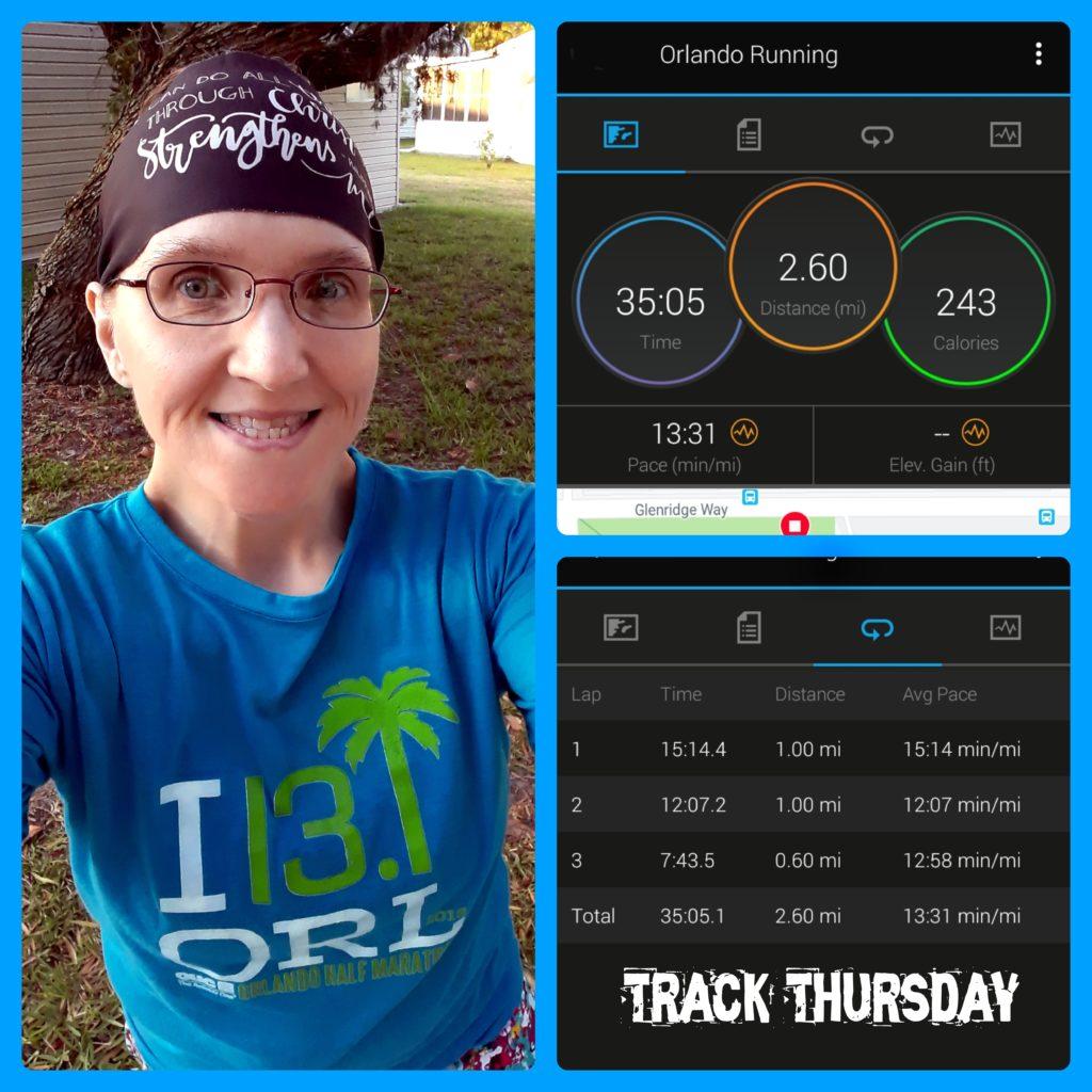 The Girl's Got Sole - Thursday Track run