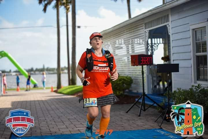 The Girl's Got Sole - 2019 Lighthouse Loop Half Marathon
