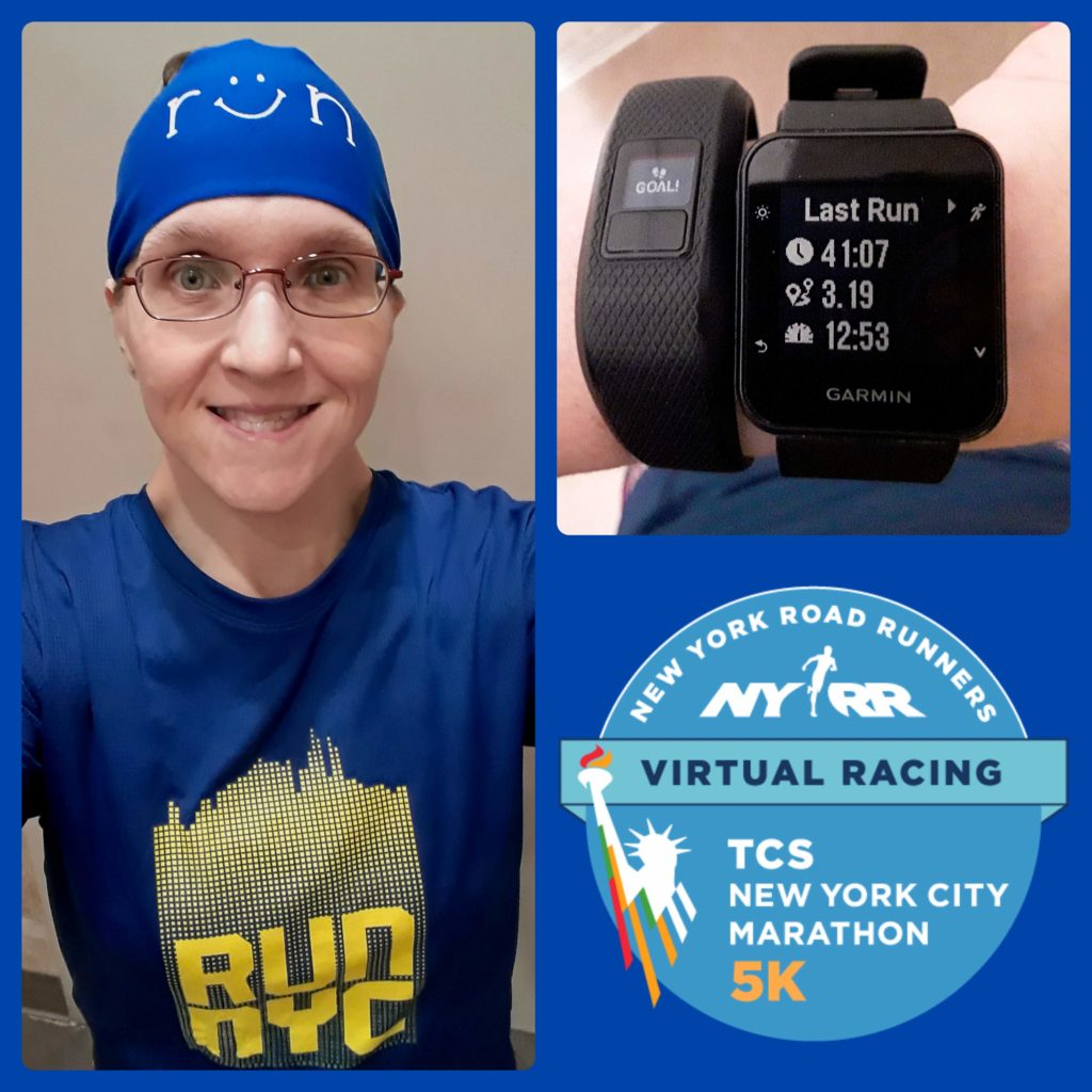 The Girl's Got Sole - TCS NYC Marathon Virtual 5k